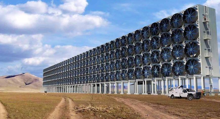 CO2 kan nu fjernes med fra luften med ny revolutionerende metode fra ny forskning
