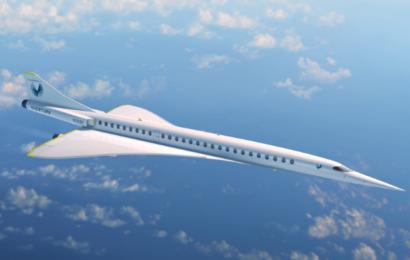 Nyt supersonisk fly: CO2 neutral passagertransport med 2700 km/t