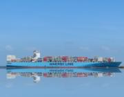 Mærsk får nyt CO2 neutralt containerskib 7 år før planlagt