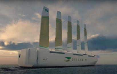 Vingedrevet skib kan transportere 7000 biler bæredygtigt over Atlanten